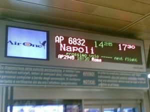 Volo Milano Napoli Air One 11 marzo 2008 un'odissea !